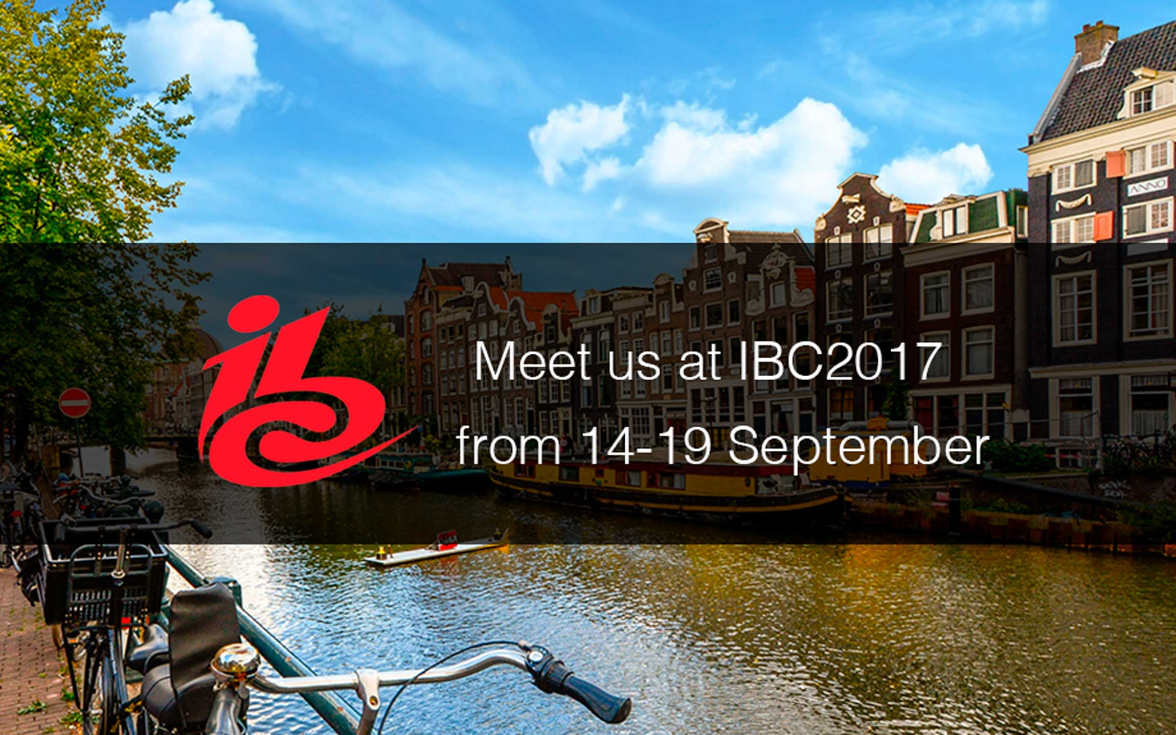 Your content can be present in Amsterdam too. We have been selected for IBC 2017 Startup Forum!